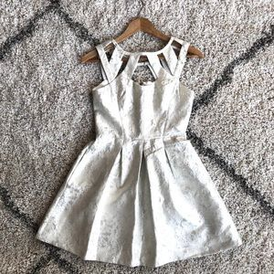 Betsey Johnson Metallic Dress